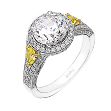 Gorgeous Simon G Diamond Ring