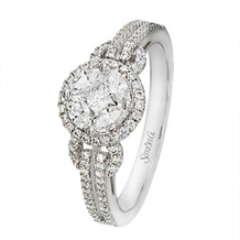 Dazzling Simon G Diamond Ring