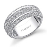 Elegant Diamond Wedding Band by Stardust