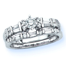 Beautiful Diamond Bridal Set