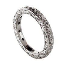 Fabulous Ritani Romantique Eternity Band