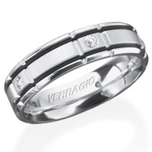 Handsome In*Gauge Mens Wedding Band