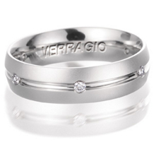 Dazzling Mens Diamond Wedding Band
