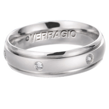 Diamond Mens Wedding Band by Verragio