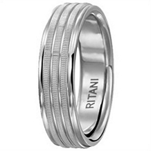 Ritani Men's Wedding Band 6mm
