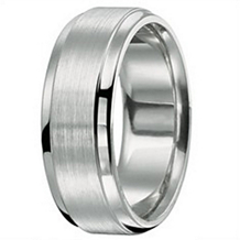 8mm Mens Wedding Band by Ritani