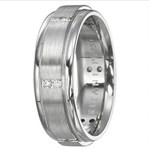 Diamond Mens Band by Ritani