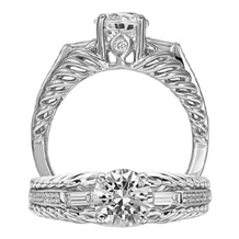 Stunning Anadare Diamond Solitaire by Ritani
