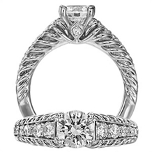 Gorgeous Diamond Anadare Collection Solitaire by Ritani