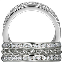 Breathtaking Anadar Collection Diamond Band