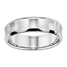 Lieberfarb Classic Styled Mens Wedding Band
