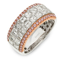 Alluring Simon G. Designer Diamond Band