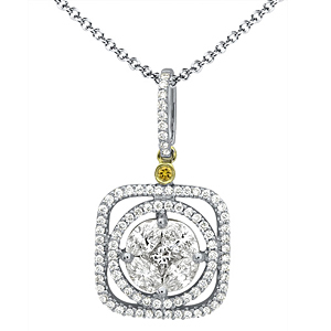 Lovely Simon G. Diamond Necklace