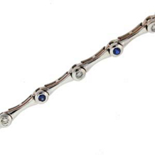 Marvelous Diamond and Sapphire Bracelet