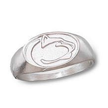 Ladies Sterling Silver Penn State Ring