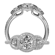 Breathtaking Endless Love Diamond Ring by Ritani