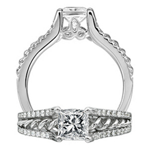 Anadare Diamond Engagement Ring by Ritani