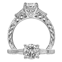 Gorgeous Ritani Andadare Engagement Ring