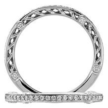 Lovely Ritani Anadare Collection Wedding Band