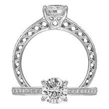 Fabulous Ritani Anadare Collection Diamond Ring