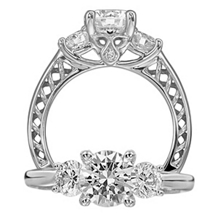 Stunning Anadare Collection Diamond Engagement Ring