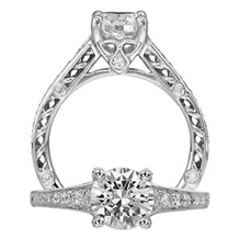 Gorgeous Anadare Diamond Engagement Ring