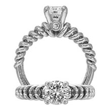 Ritani Diamond Engagement Ring Anadare Collection