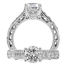 Dazzling Anadare Collection Engagement Ring by Ritani