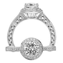 Beautiful Ritani Anadare Collection Engagement Ring