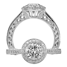 Stunning Ritani Engagment Ring Anadare Collection