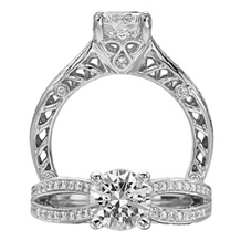 Spectacular Anadare Collection Engagement Ring