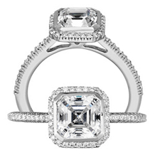 Gorgeous Bella Vita Collection Diamond Engagment Ring