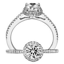 Bella Vita Collection Diamond Engagement Ring