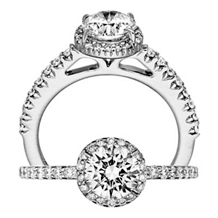 Alluring Bella Vita Diamond Engagement Ring