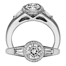 Stunning Bella Vita Engagement Ring by Ritani