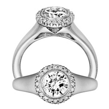 Classic Bella Vita Diamond Engagement Ring by Ritani