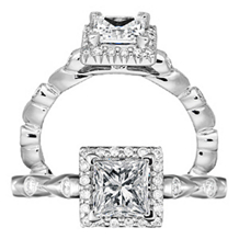 Gorgeous Ritani Bella Vita Collection Diamond Ring