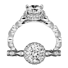 Lovely Bella Vita Collection Diamond Ring by Ritani