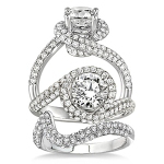 Fancy Complete Diamond Wedding Set