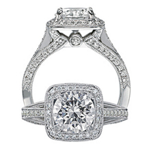 Beautiful Ritani Masterwork Diamond Ring
