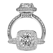 Gorgeous Ritani Masterwork Diamond Engagement Ring
