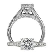 Stunning Ritani Modern Collection Engagement Ring
