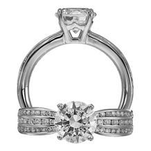 Beautiful Ritani Modern Engagment Ring