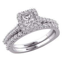 Breathtaking 3/4 Carat Diamond Ring