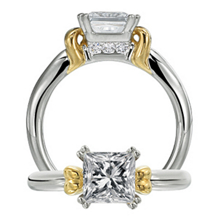 Gorgeous Modern Engagement Ring by Ritani