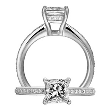 Beautiful Classic Engagement Ring by Ritani