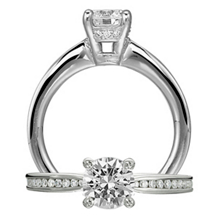 Stunning Classic Engagement Ring by Ritani