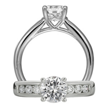 Breathtaking Ritani Classic Engagement Ring