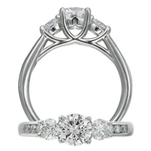 Lovely Diamond Classic Engagement Ring by Ritani