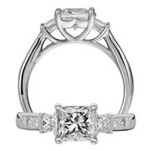 Gorgeous Ritani Classic Engagement Ring